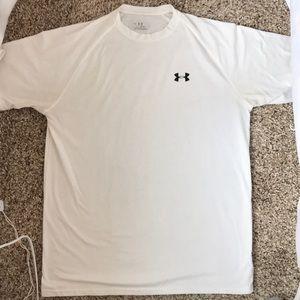 Under Armour HeatGear T-Shirt - White